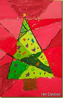 Shades and tints Christmas tree project