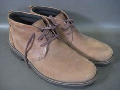 d81a4b1c20 Details about ECCO Turn GTX Gore-tex Brown Leather Ankle Chukka Boots Men's  42 US 8 - 8.5