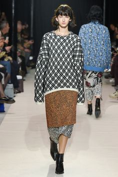 Christian Wijnants Fall 2017 Ready-to-Wear Collection Photos - Vogue Fashion 2017, 90s Fashion, Runway Fashion, Autumn Fashion, Together Fashion, Christian Wijnants, Fashion Show Collection, Fashion Face, Ready To Wear