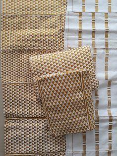 Kente cloth  from Ghana/ White kente woven/ kente Fabric/ African Print Dress/ Kente African fabric patterns/ Kente wax/ Kente stole/ Kente/