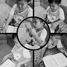 Toddler and Al-Quran
