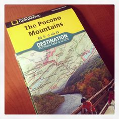 Need a map of the region? Find the National Geographic #PoconoMtns Destination Map!