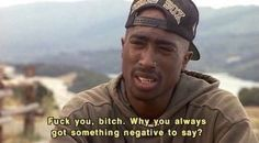 Tupac in poetic justice Citations 2pac, Eminem, Tupac Pictures, Funny Pictures, Gangsta Quotes, Citation Rap, Rapper Quotes, Mood Pics, Real Talk Quotes