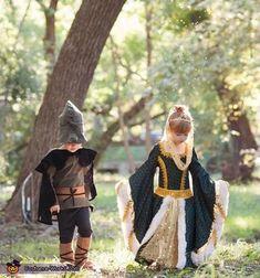 Robin Hood and Maid Marian - Halloween Costume Contest via @costume_works