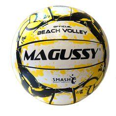 2d563eea8 Bola De Vôlei De Praia Magussy Beach Volei - Amarelo