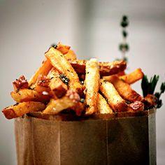 Spike's Village Fries with Sriracha Mayonnaise Recipe - Delish.com