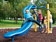 Slides recalled by Landscape Structures due to Fall Hazard.