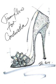 9 famous designers created their own versions of Cinderella's glass slipper