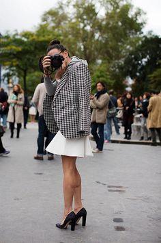 Take some pictures / at Paris Fashion Week