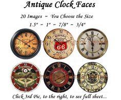 printable clock faces - Google Search