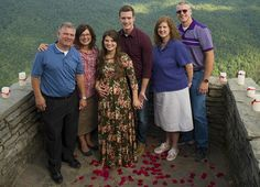 Bobby Smith & Tori Bates are with the in law Gil & Kelly Jo Bates & his parent