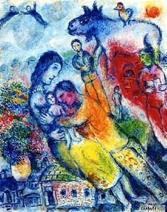 La joie familaile by Marc Chagall