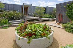 concrete pipe garden - Google Search