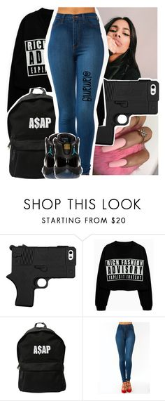 """""""she keep it wet like tsunami, she think she sunk the titanic💧"""" by lamamig ❤ liked on Polyvore featuring ASAP and Retrò"""