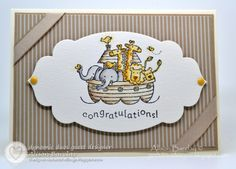 images stampinup cards   ... Alison Barclay: Dynamic Duos #26 - Stampin' Up! Two by Two Baby Card