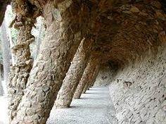 Parque Güell ~ walkway