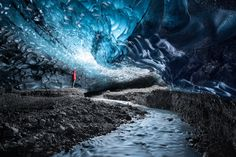 Ice Cave / 500px Another Earth, Travel Photographer, Belgium, Cave, Waterfall, Outdoor, Outdoors, Caves, Waterfalls