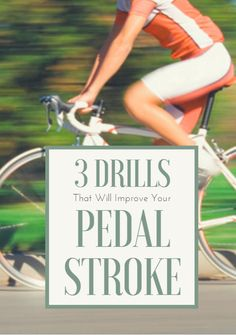 Use these tips and drills to correct your bad habits and become more efficient at pedaling your bike. 3 Drills That Will Improve Your Pedal Stroke http://www.active.com/cycling/Articles/3-Drills-That-Will-Improve-Your-Pedal-Stroke.htm?cmp=23-243-1043