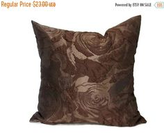 Brown Pillow Cover Pillow Covers Throw by ModernHouseBoutique