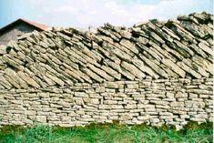 Muros de piedra montañas del Jura