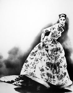 Glamour from Lillian Bassman vintage fashion photography