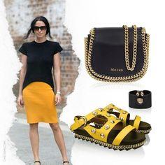 Look do dia com flatform e muita cor! Compre a bolsa e a sandália no link da bio😉#miezko #ootd
