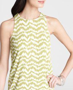Ann Taylor - AT Dresses - Stylish Forms Print Vibrant Sheath Dress