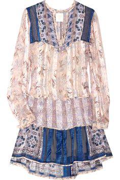 Anna Sui Floral Print Tunic £455