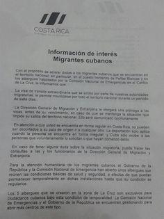 Prosigue búsqueda de solución para los cubanos en Costa Rica