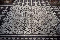 Black and White Mosaic, Hadrian's Villa | Flickr - Photo Sharing!