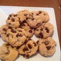 Gemakkelijke chocolate chip koekjes