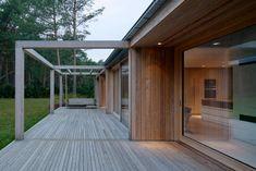 Johan Sundberg transforms Swedish summer house with larch wood