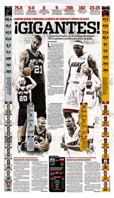 NBA Finals preview great photo  www.kingsofsports.com  Check out more NBA Action at:  http://hoopsternation.com