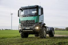 Mercedes Benz is showcasing the latest special truck of its popular range, Unimog, in the Agritechnica, which is presently being held at Han...