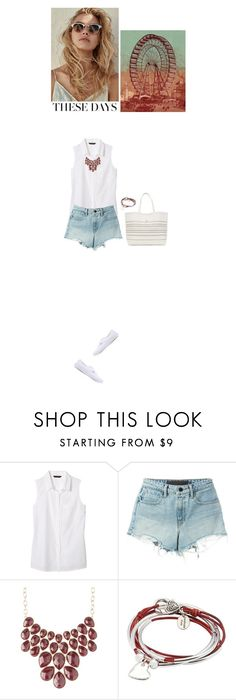 """""""I'm back"""" by blueeyed-dreamer ❤ liked on Polyvore featuring Banana Republic, T By Alexander Wang, Charlotte Russe, Lizzy James and Vans"""