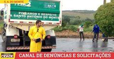 ►População de S. A. do Monte já pode fazer denúncias de lotes sujos e pedidos de troca de lâmpadas queimadas.>http://goo.gl/uevNqV