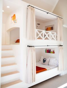 Children's rooms present so many possibilities in terms of decorating—they demand function, to be sure, but also playfulness. Here, we present 10 creative kids' spaces that are sure to be among the chicest areas in the house.