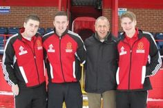Derby College apprentices at Alfreton Town FC. More opportunities with the football club will be available soon.