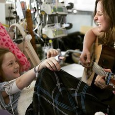 """""""Music therapy is the part of the day when the sun gets to shine through the dark clouds of heartbreak.""""   #DiscoverPCH #MyPCHStory #primarychildrenshospital #utahmusictherapy #MTadvocacy #musictherapyrocks"""