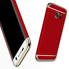 £7.99  Amazon    For Galaxy S6 Edge Plus Case,HAVE1SEE Hybrid Luxury Shockproof Armor Back Ultra-thin Case Cover Removable case for Samsung Galaxy S6 Edge Plus Red