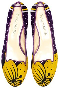 you khanga ballet shoes- italian quality and african culture