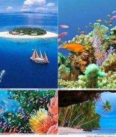 Fiji, Paradise island