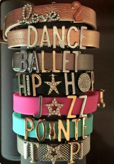 Dancer bracelets perfect for your dancer or dance mom   Www.keep-collective.com/with/nicoledietrick