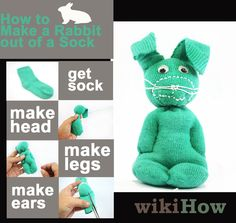 How to Make a Rabbit out of a Sock