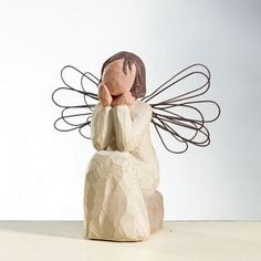 Willow Tree Angel of Caring - I received this as a gift today, and it means so much to know I was thought of in this way.  <3