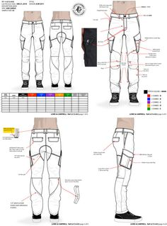 cargo pants tech pack by maurice malone