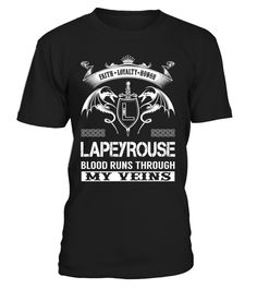 LAPEYROUSE Blood Runs Through My Veins