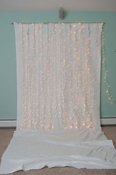 Do it yourself christmas lights backdrops and diy headboards xmas holiday photo backdrop for diy photo booth solutioingenieria