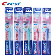 Crest 1 pc Deep Clean Ultra Soft Bristles Toothbrush Travel Nano Cleaning Brush Teeth Eco Oral Care Hygiene Toothbrushes Adults #Affiliate