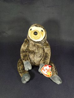 5978367d28d 1999 Ty Beanie Babies Collection Slowpoke The Sloth